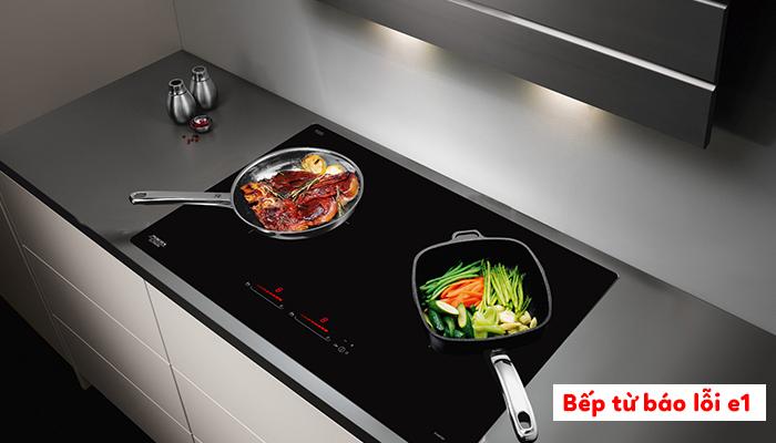 Các lỗi thường gặp ở bếp từ Bosch