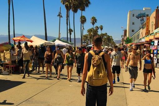 Boardwalk, Crowd Of People