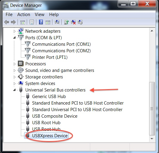 USBXPRESS DEVICE DRIVERS FOR WINDOWS DOWNLOAD