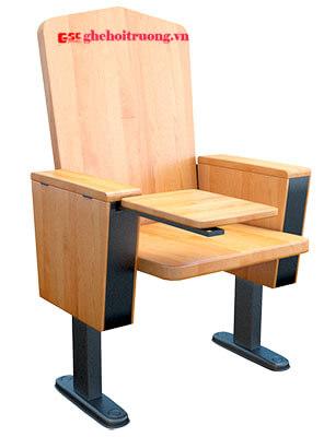 Ghế hội trường đa năng bằng gỗ EVO2203