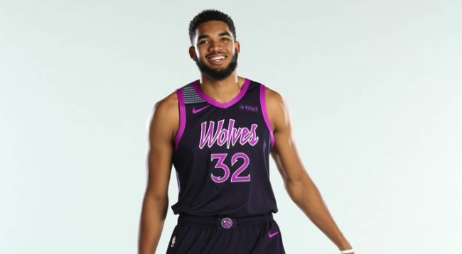 """The T Wolves had an easy road to design the top """"City Edition"""" jersey  an  icon synonymous with the city (Prince) bde7e198b"""