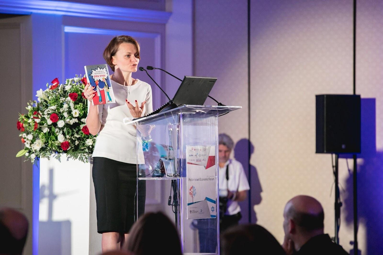 Mrs. Jadwiga Emilewicz, the Polish Minister of Entrepreneurship and Technology