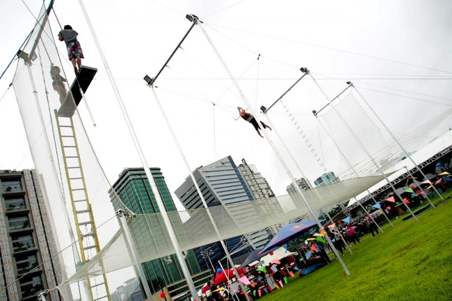 flying trapeze bgc