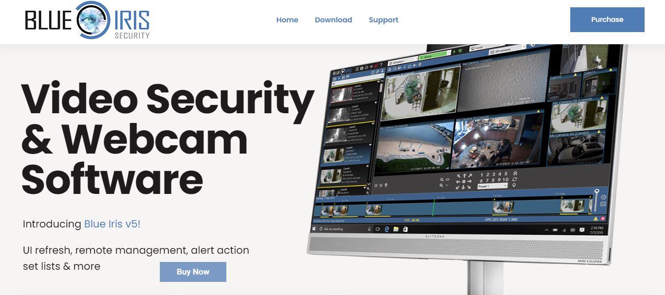 Blue Iris IP Camera Software
