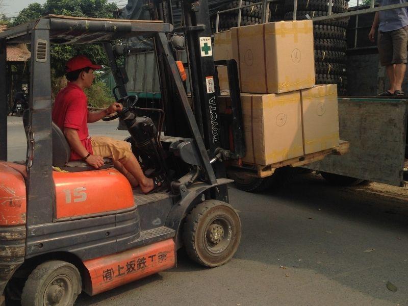 Quy trình vận chuyển hàng Bình Dương đi Bình Thuận