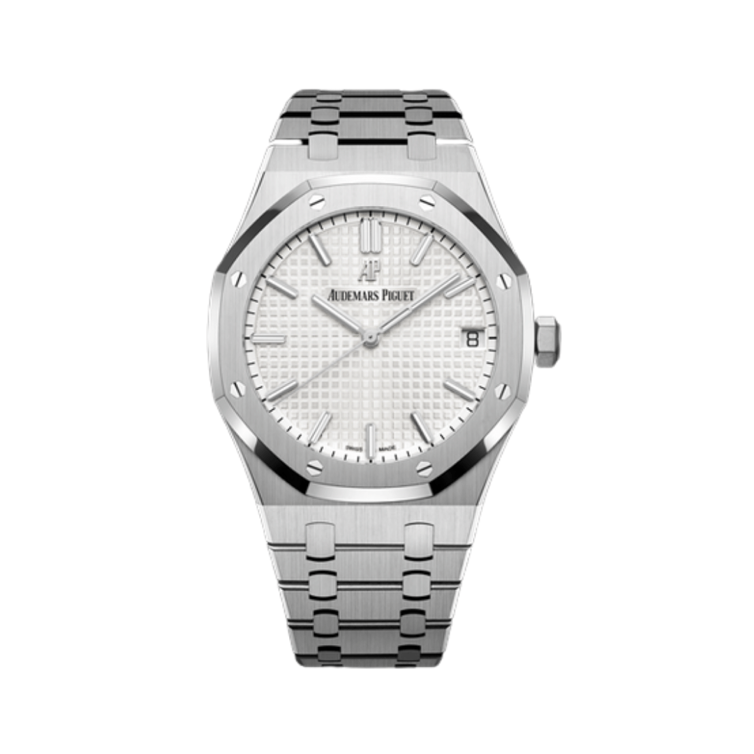 Steel Audemars Piguet automatic watch  from the Royal Oak collection.