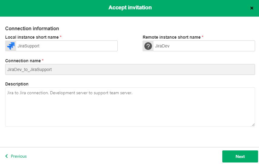 accept invitation in a jira instance