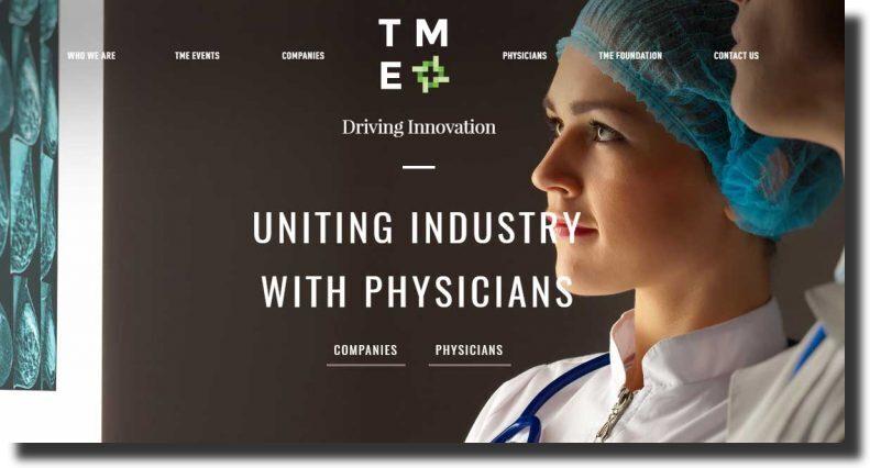 TMEDED medical website design