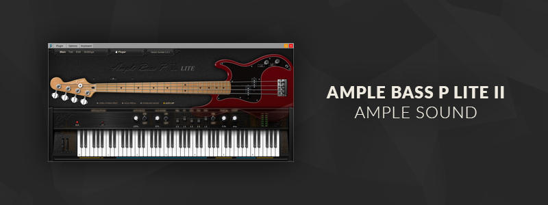 Ample Bass P Lite II by Ample Sound (Windows, Mac OS)