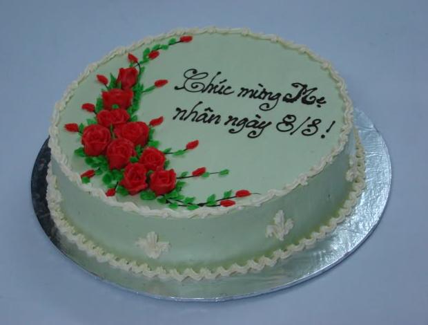 Lý giải câu hỏi tại sao nên tặng bánh kem 8/3 cho mẹ yêu