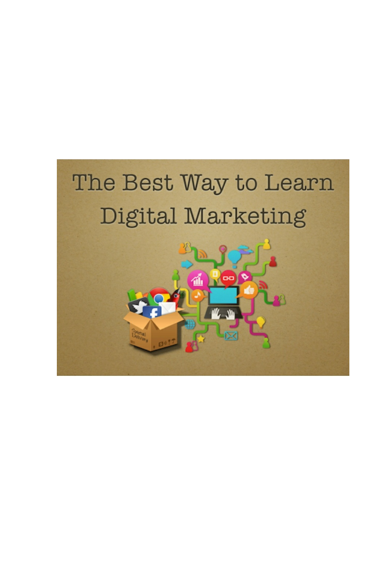 Best way to learn Digital Marketing