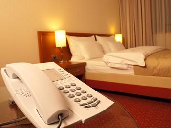 Téléphone service hotelier