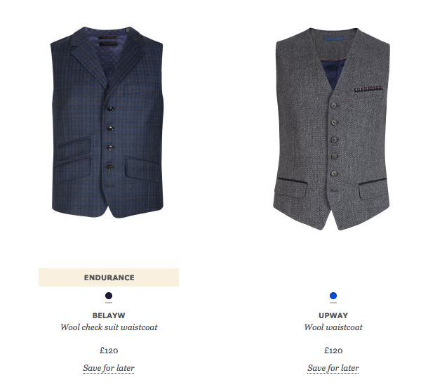 ted baker category page