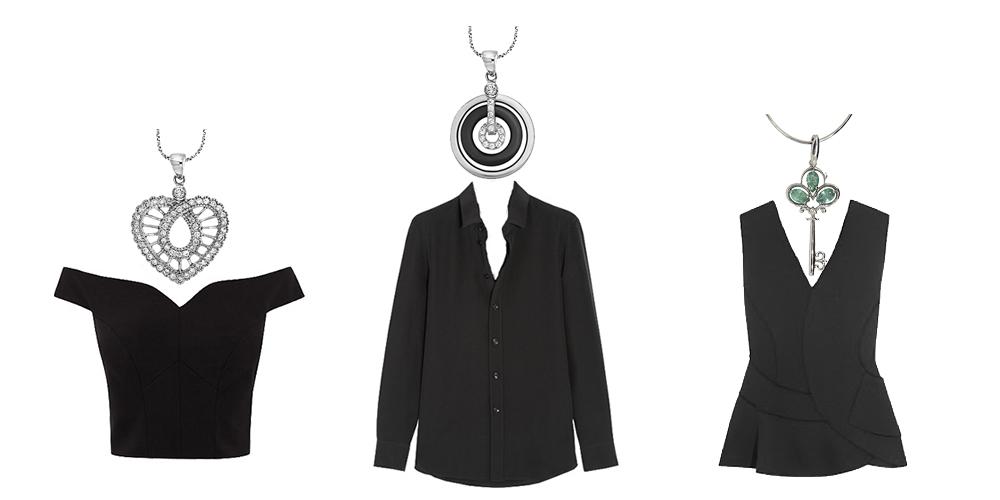 Выбор кулонов под стиль одежды