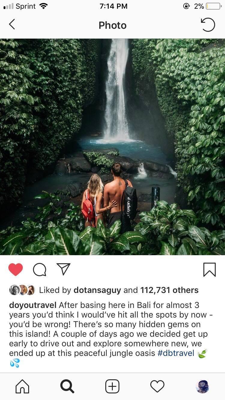 travel Instagram doyoutravel