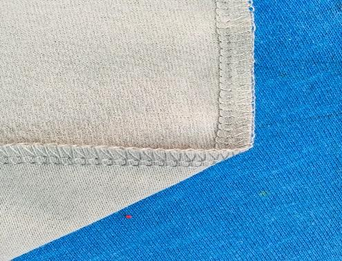 Sewing in garment industry