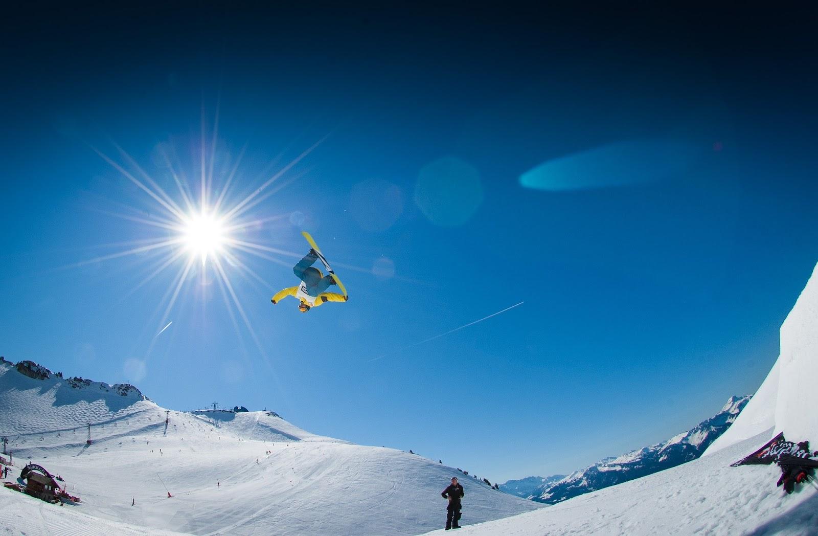 Trượt ván đơn trên tuyết