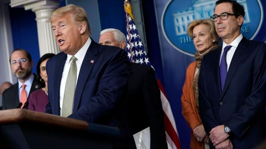 Mnuchin: Trump wants checks sent to public in virus ...