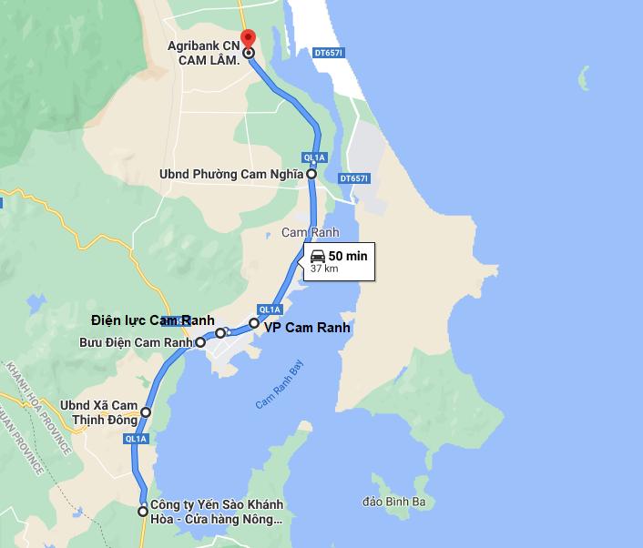 Xe Phương Nam trả khách ở Cam Ranh, Nha Trang