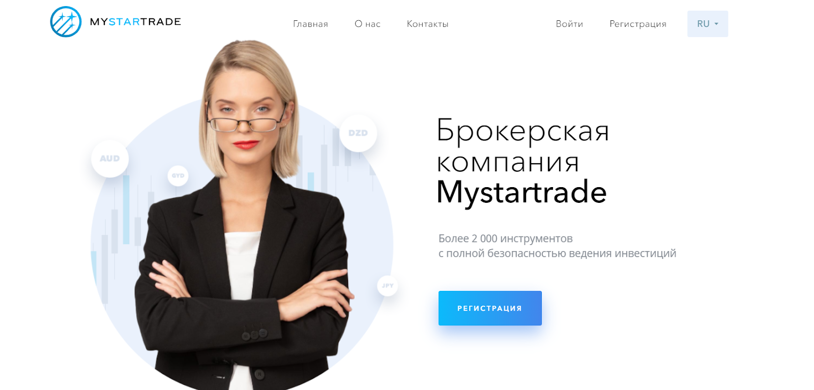 Обзор брокера Mystartrade, анализ отзывов экс-клиентов