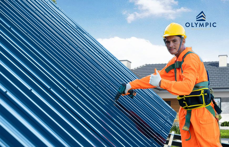 Lợp Tôn Olympic bảo vệ cho mái nhà bền vững