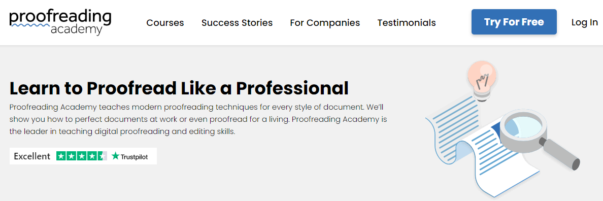 proofread with proofread academy