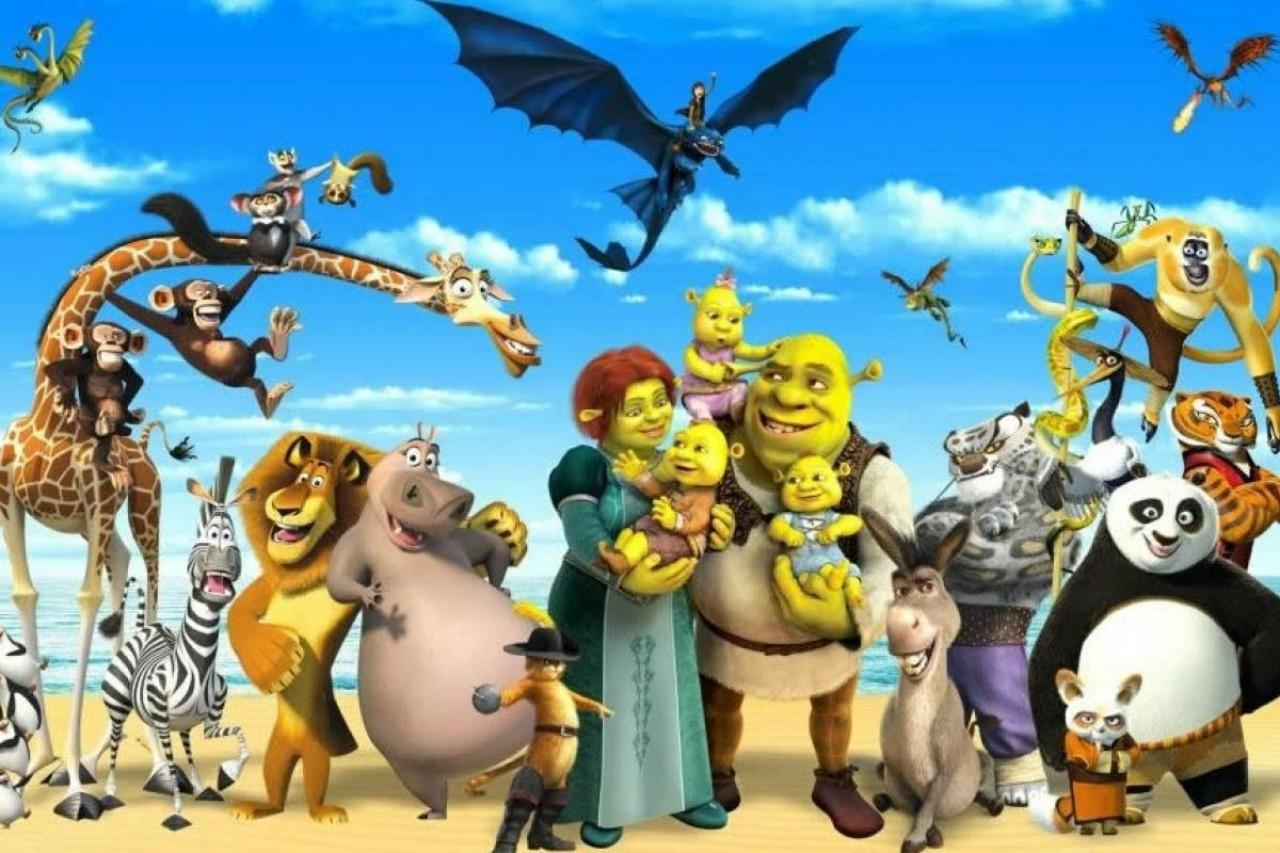 The world of Dreamworks