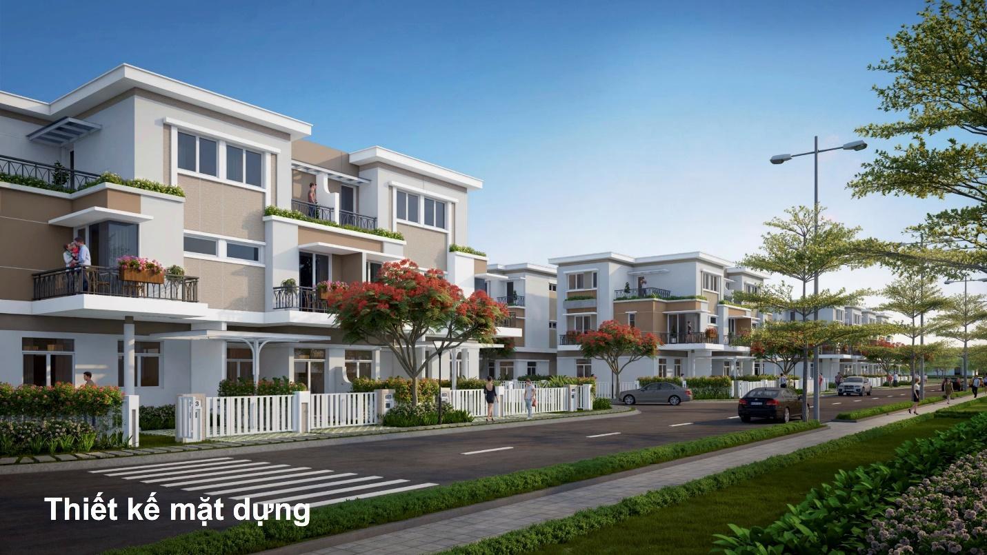 Biệt thự Verosa Khang Điền thiết kế hiện đại bền vững theo thời gian
