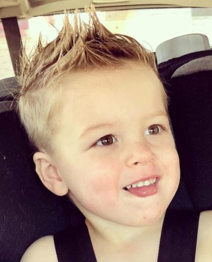spikes haircut for boys