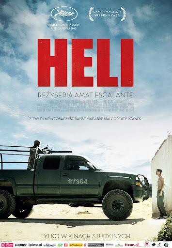 Polski plakat filmu 'Heli'