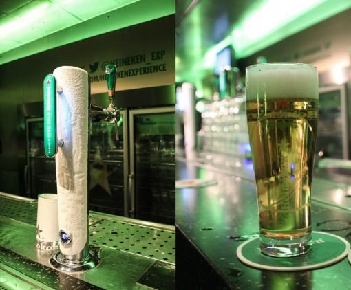 Cervejarias em Amsterdam - Ao final, degustação ao estilo barzinho