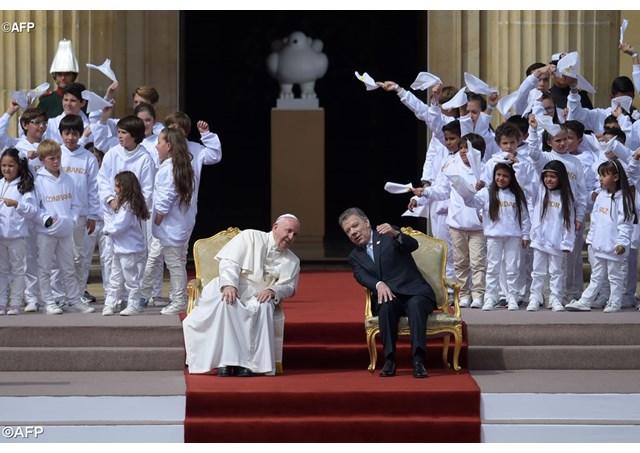 Đức Thánh Cha thúc giục các nhà lãnh đạo Colombia tiến đến hòa bình và hòa giải: Toàn văn