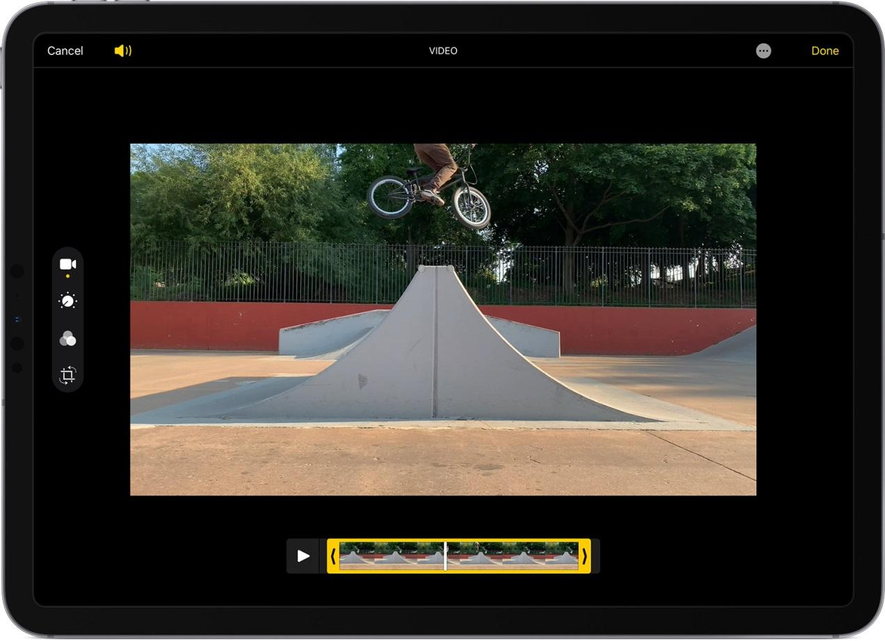 How to Trim Video with Photos on iPhone