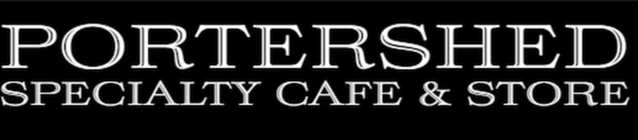 portershed speciality cafe and store logo