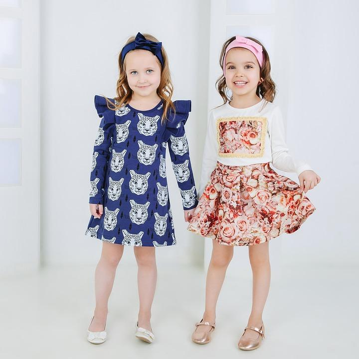 little girls all dressed up