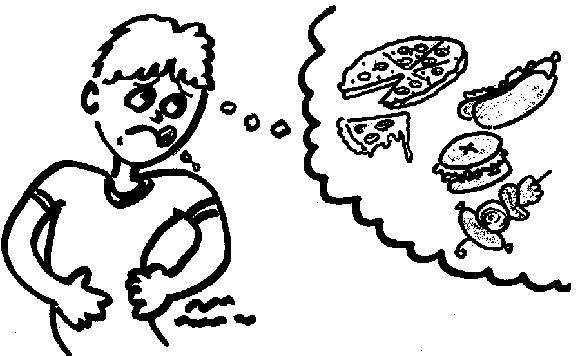 Cara Membedakan Antara Lapar Dengan Nafsu Ingin Makan