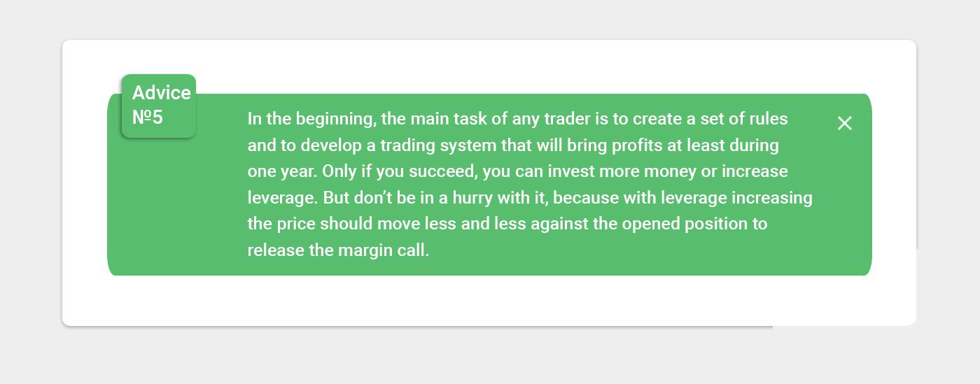 forex trading advice 5