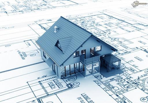 Một phần của thiết kế kiến trúc tổng thể nhà