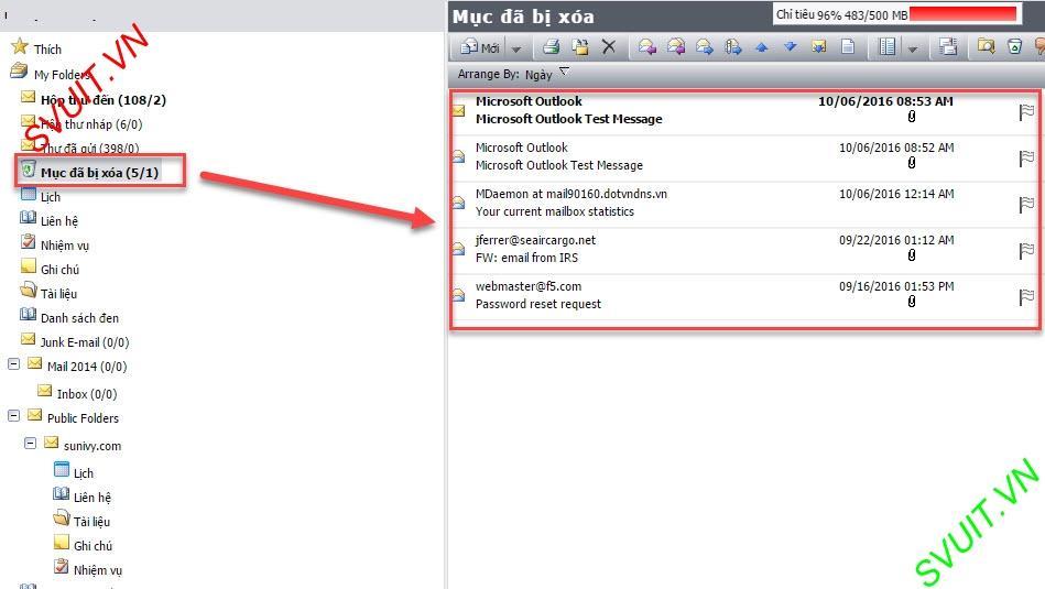 Xóa thư trên webmail và giữ lại trên Outlook (11)