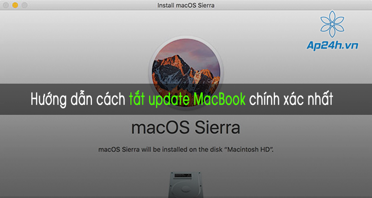 tắt macBook