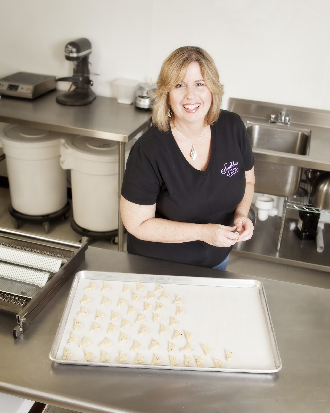 Cathy Kleros, owner of Southbury Baking Company