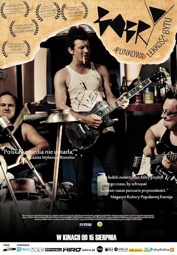 Polski plakat filmu 'Bobry'
