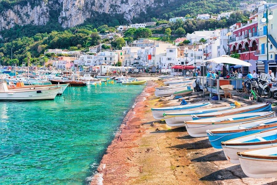Visita la isla de Capri en un crucero por Italia con Norwegian
