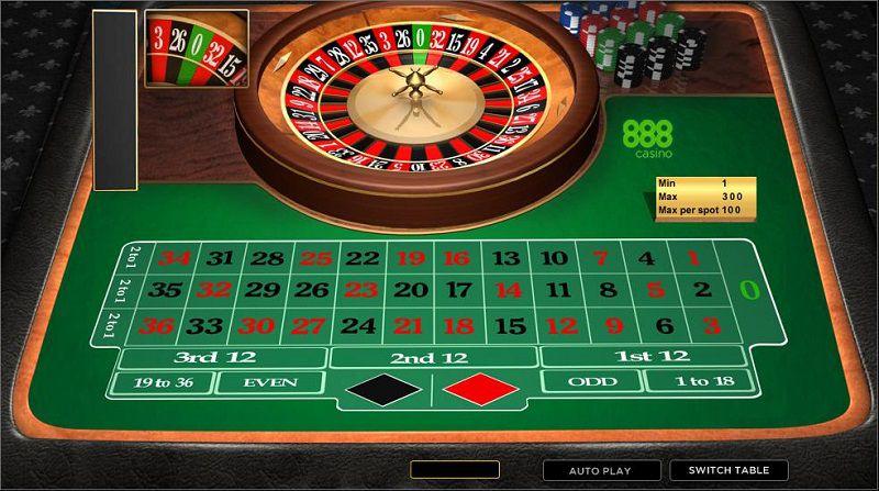 Có cách chơi Roulette, cơ hội chiến thắng hoàn toàn được chia đều cho mỗi người chơi