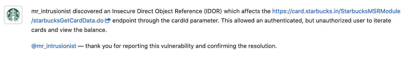OWASP Broken Access Control: View unauthorized balances using an IDOR vulnerability