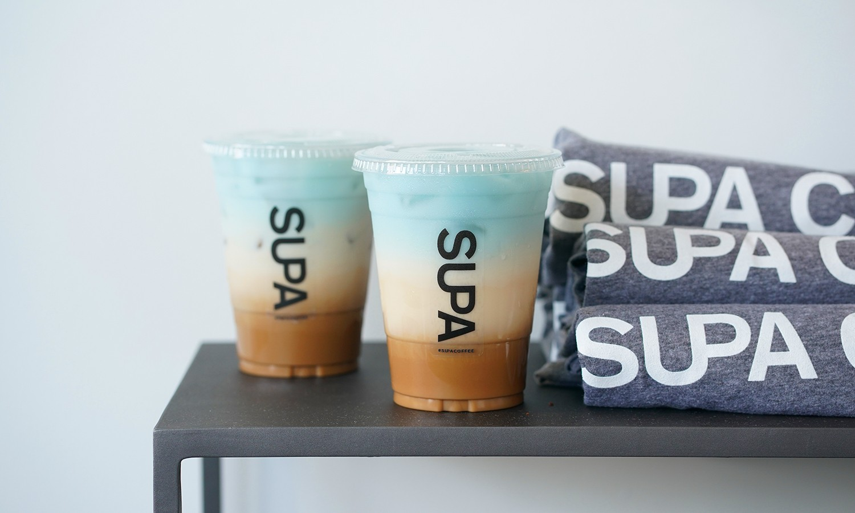 Tri-colored coffee