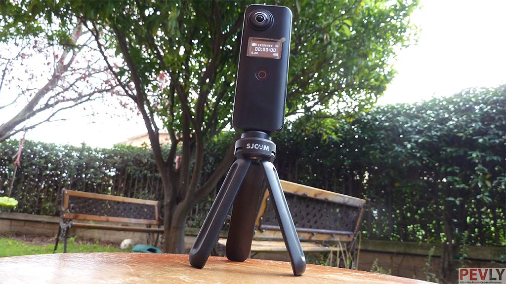 SJCAM SJ360 Plus Photo 2 on a tripod