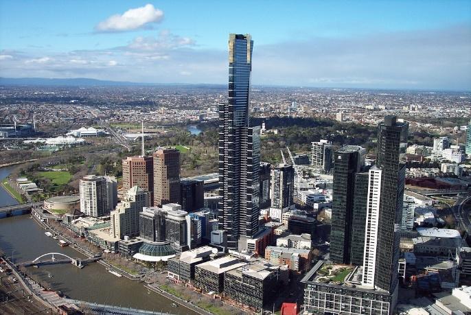 Buildings, Eureka Tower, Melbourne, Skyscraper, City