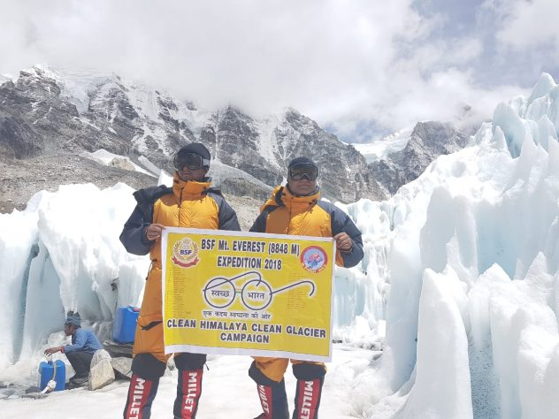 Mount Everest Summit by clean Himalayas Campaign