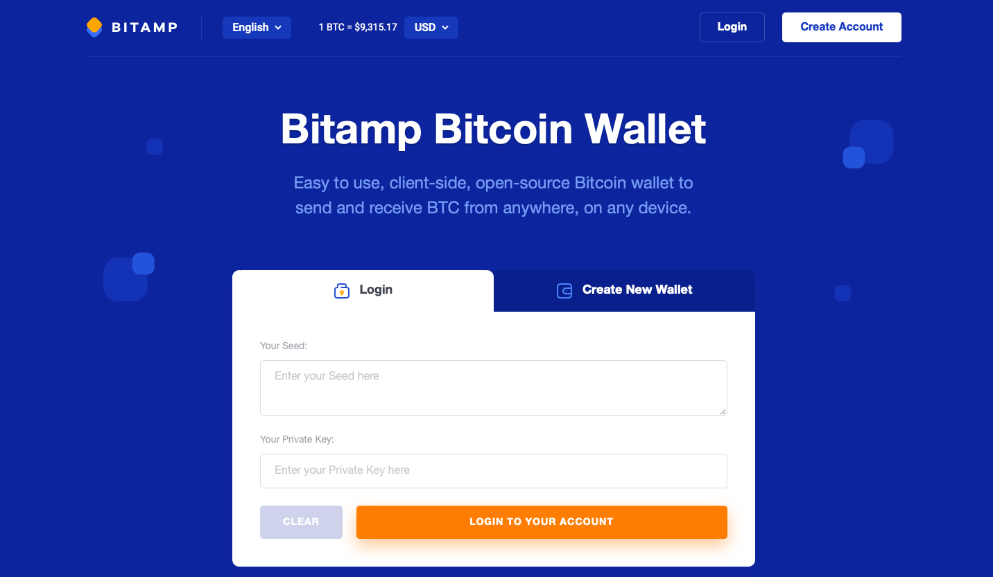 bitamp wallet review